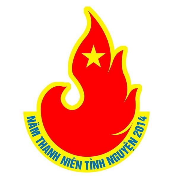 th��ng nh��t m��u logo n�m thanh ni234n t236nh nguy�n 2014 v�n